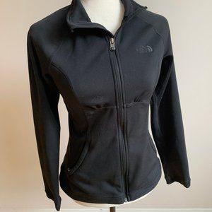 the North Face black sz small sweater full zipper